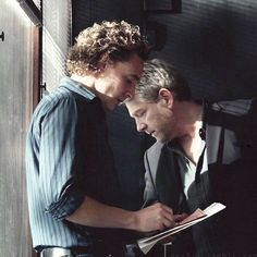 Sir Kenneth Branagh and Tom Hiddleston