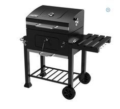 Charcoal Barbecue Portable ,Waterproof Grill Cover Accessories Thermometer BBQ  #CharcoalBarbecuePortable