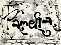 my name is pamella