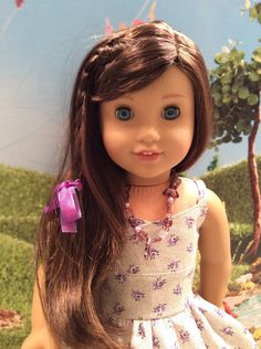 A personal favorite from my Etsy shop https://www.etsy.com/listing/287986749/american-girl-doll-clothes-custom