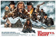Quentin Tarantino The Hateful Eight Movie Classic Art Poster The Hateful Eight, Quentin Tarantino, Tarantino Films, Lee Horsley, Fan Poster, Poster Prints, Art Prints, Poster Wall, Omg Posters
