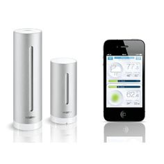The unique, made for iPhone and Android personal Weather Station, with air quality measurements, to