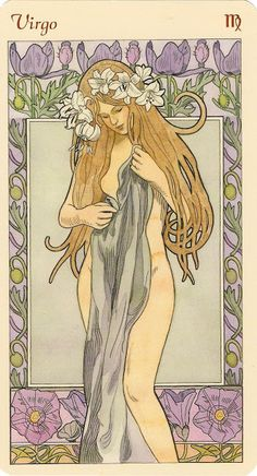 Virgo, Mucha - New Moon for sagittarius, capricorn, aquarius, pisces.