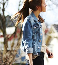Slip on a denim jacket with every outfit!