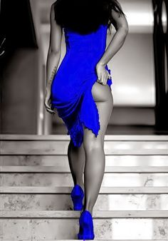 Beautiful colorful pictures and Gifs: Blue Color Splash-Azul