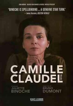 Writer/director Bruno Dumont draws inspiration from the correspondences between poet Paul Claudel (Jean-Luc Vincent) and his sister Camille (Juliette Binoche) to craft this biographical drama centerin