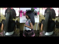 Natural Hair Styling Part1 |Gabby LittleMindCatchers