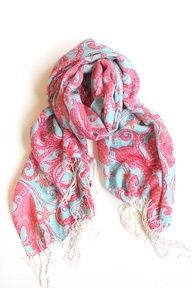 Lily Pulitzer scarf - scarves are my go to accessory.
