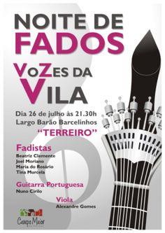 Campomaiornews: Vozes da Vila - noite de Fado em Campo Maior