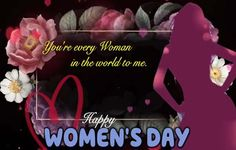 Happy Woman Day, Happy Women, Sending Hugs, Make Her Smile, Love Hug, Day Wishes, Light Of My Life, Inspirational Message, Cute Woman