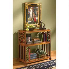 St. Thomas Aquinas Gothic Wooden Bookshelf $169.00
