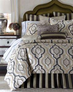 "Jane Wilner Designs ""Gatsby"" Bed Linens"