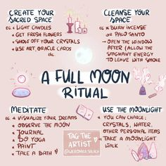 A full moon ritual meditation Wiccan Witch, Magick Spells, Wicca Witchcraft, Wiccan Magic, New Moon Rituals, Full Moon Ritual, Full Moon Spells, Wiccan Rituals, Full Moon Meditation