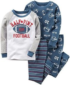 Sleepwear 147336: Carter S Baby Boys 4Pc Cotton 321G234 Print 6M Baby Boys Infant Toddler Pajama S -> BUY IT NOW ONLY: $117.29 on eBay!