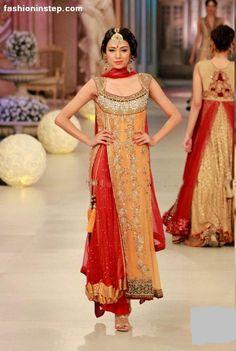 Asifa & Nabeel https://www.facebook.com/AsifaandNabeelOnlineStore at Pantene Bridal Couture Week 2012
