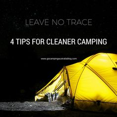 Leave No Trace camping