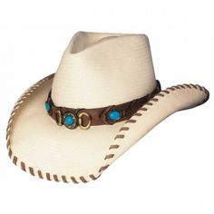 4db545d53a08f Best of the West - Shapeable Straw Cowboy Hat Western Hats
