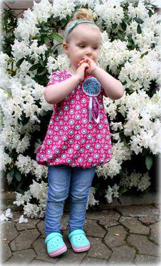 Nähanleitungen Kind - Ebook Ballontunika ♥ Feli ♥ 74 bis 146 - ein Designerstück von rosarosa-shop bei DaWanda