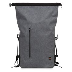 "Cromwell Men's 15"" Roll Top Backpack - Grey 