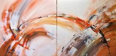 """Saatchi Art is pleased to offer the painting, """"Orange Vision,"""" by Laura B , available for purchase. Original Painting: Acrylic on Canvas. Size is H x 63 W x in. Acrylic Colors, Acrylic Art, Original Art, Original Paintings, Large Artwork, Colorful Paintings, Warm Colors, Modern Art, Saatchi Art"""