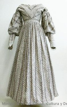 Dress, ca. 1830-1833 | These are the sleeves I need!