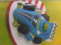 Racing+Car+Cake++Fairy+cakepins.com Race Car Party, Race Cars, Race Car Cakes, 3rd Birthday Parties, F1, Fairy, Racing, Vehicles, Drag Race Cars