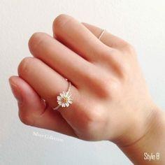 [Silver] Flower Ring / 꽃 반지 : 네이버 블로그