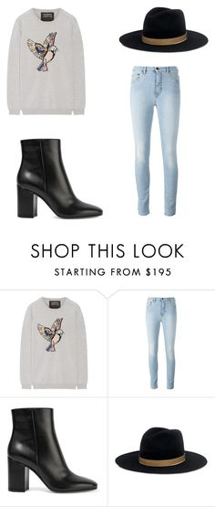 """Untitled #71"" by ashleylunaescamilla ❤ liked on Polyvore featuring Markus Lupfer, Gianvito Rossi and Janessa Leone"