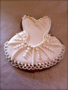 Cupcake Columbia's Snow White Ballet Tutu Iced Cookie.