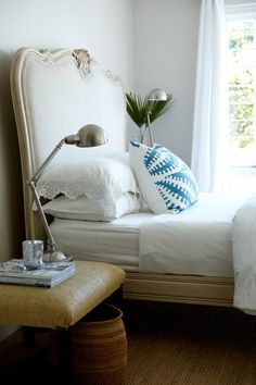 lace + graphic pillow