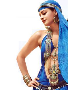 Beautiful Belly Dance Costume