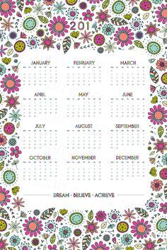 Rosie Simons Graphic and Surface Design: Spoonflower Tea Towel Calendar