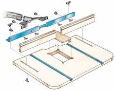 Drill Press Table Parts