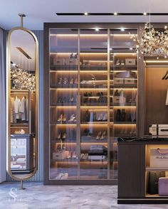 pretty modern closet ideas that every women will love 30 ~ mantulgan.me : pretty modern closet ideas that every women will love 30 ~ mantulgan. Walk In Closet Design, Bedroom Closet Design, Closet Designs, Dressing Room Closet, Dressing Room Design, Dressing Rooms, Home Design, Home Interior Design, Design Ideas