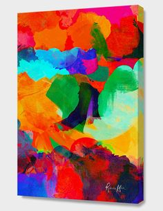 """""""A GREAT CALM"""", Numbered Edition Canvas Print by Rebecca Allen - From $89.00 - Curioos"""