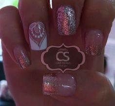 French Manicure Nail Designs, French Nails, Nail Art Designs, Cute Nails, Pretty Nails, Different Nail Shapes, Square Acrylic Nails, Healthy Nails, Beautiful Nail Designs