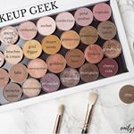 Todays post is all about my Makeup Geek shadows Ive swatched and reviewed them all individually on emilyloulacom clickable link in bio Definitely my favourite eyeshadows of all time  bbloggers makeupgeek custompalette makeupgeekcosmetics