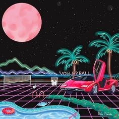 KITSCH, YOKO HONDA We're obsessed with Japanese artist Yoko Honda's perfect homages to all things Through a combination of digital painting and print, she constructs scenes of resplendent. New Retro Wave, Retro Waves, Memphis, 80s Neon, Vaporwave Art, Airbrush Art, Print Layout, Retro Aesthetic, Retro Futurism