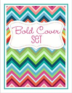 nifty covers - in a zillion topics for your home management binder. available in different colors, too...and FREE!