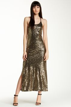 Cecico Sequin Maxi Dress by Cecico on @HauteLook