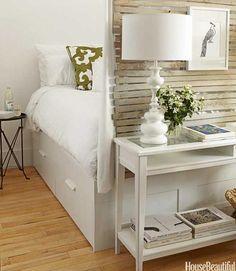Ideas Small y Low Cost para dormitorios. Nos centramos en el dormitorio para buscar las 10 mejores soluciones de decoración con un presupuesto de lo más ajustado.