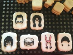Minimalist Bob's Burgers Cookies