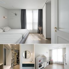 심플함 속 디테일의 변주가 돋보이는 곳 : 네이버 포스트 Curtains, Cabinet, Storage, Furniture, Home Decor, House, Clothes Stand, Purse Storage, Blinds