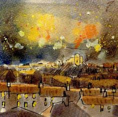 Bonfire Night in Lewes by Tom Homewood ~ I love/want this for the flat! http://www.tomhomewood.com