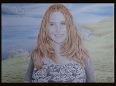 Gemma R. #Redhead #Ginger #Drawing #Pencil #Portrait #Art #Freckles