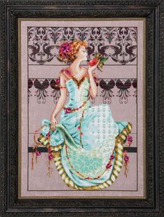 Mirabilia – Persephone | Laurel's Stitchery Blog