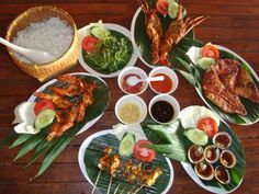 Jimbaran Seafood.  I ate seafood from all continents. But no others can beat the Bali's special sea food with secret recipe of ingredients.