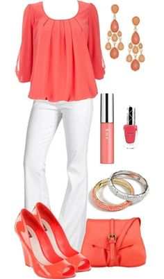 Like the colors and style. Even the shoes and bag.