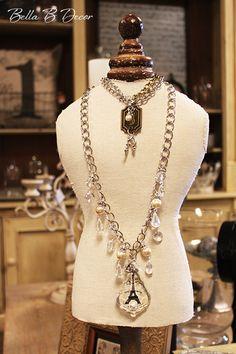 Vintage jewelry! ~Bella B Decor