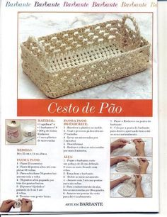 Basket with diagram - Russian page, use web translator.